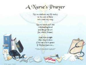 Nurse Prayer Poem