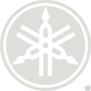 Yamaha Logo ETCH GLASS LOOK Vinyl Decal Sticker