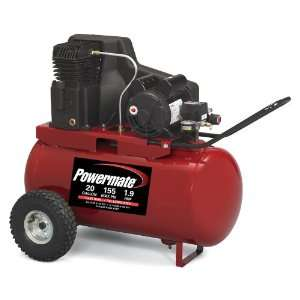 Powermate PPA1982054 20 Gallon Oil Lubricated Belt Driven