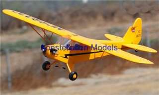 RC Electric Airplane Piper Cub J3 Ready to Fly Complete