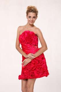 Unique Hot Pink Evening Dress Prom Formal Cocktail Sweet 16 Dance