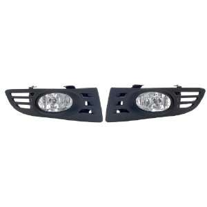 ACCORD 03 2 DOOR FOG LIGHT WITH WIRING KITS AND SWITCH NEW Automotive