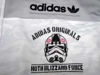 Adidas Originals Star Wars Mens XL Firebird Track Top Jacket Blizzard