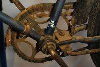 antique 1920s Schwinn Excelsior bike bicycle blue original paint B10E