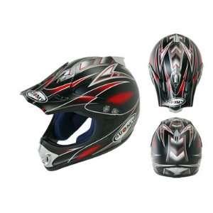 Suomy Extreme Motorcycle Helmet Fun Red
