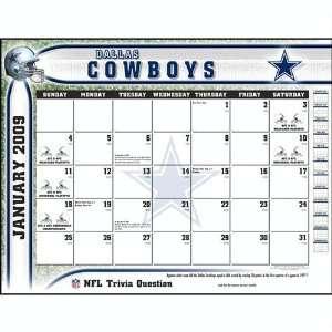 NFL Dallas Cowboys 2009 Desk Calendar (9781436005593