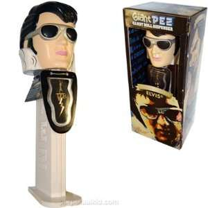 New LLC 1970s Limited Edition Elvis Presley Giant Pez, 1.74 Ounce
