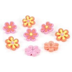 Darice Gardening Flowers Push Pins Ars, Crafs & Sewing