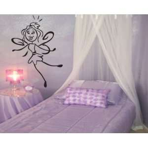 Fairy Wings Girl Child Teen Vinyl Wall Decal Mural Quotes Words