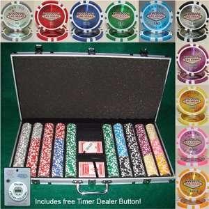750 Casino Grade Las Vegas 14 gram Poker Chips w/ Free