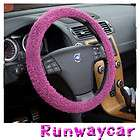 Runwaycar Perl Steering wheel cover Size  L , Runwaycar Dalmatian