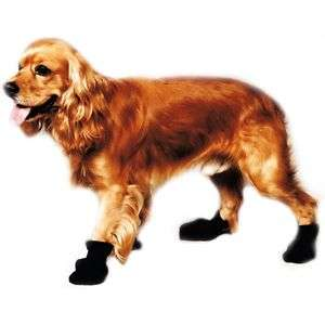 Fashion Pet Arctic Fleece Dog Boots Paw Covers Non Skid