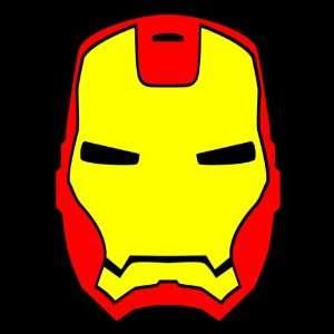 IRON MAN Sticker marvel comic super hero vinyl decal