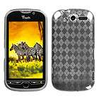 Clear Argyle Pane Candy Skin Cover For HTC ADR6330(Rhyme)