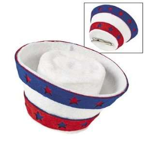 Patriotic Mini Hair Clip Hat   Costumes & Accessories