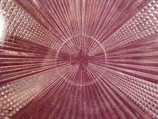 Pretty EAPG Antique FLOWER POT GLASS BREAD TRAY Bryce Higbee AS IS