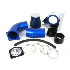 94 95 Ford Mustang GT V8 5.0L Cold Air Intake Kit Blue