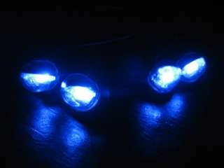 BLUE SINGLE LED LIGHTS 12V VEHICLE EXTERIOR INTERIOR