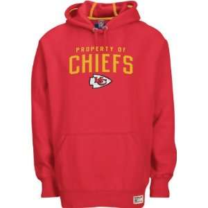 Kansas City Chiefs Red Property Of Hooded Sweatshirt