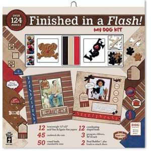 Finished In A Flash Page Kit 12X12 My Dog Arts, Crafts