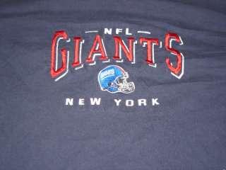 NEW YORK GIANTS OLD HELMET LOGO VINTAGE T SHIRT(XL)USED
