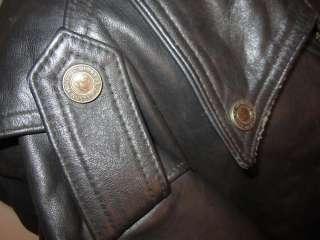 Davidson Black Shovelhead Leather Jacket Size XXXLH/D #98121 94VM