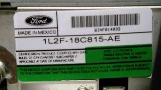 2002 2003 Ford MUSTANG EXPLORER MOUNTAINEER Radio 6 Disc CD Changer 02