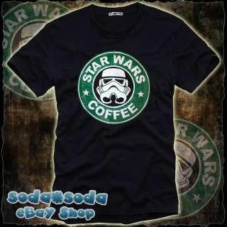 funny Stormtrooper T SHIRT Coffee STAR WARS fun (XL)