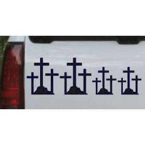 Christian 3 Crosses Stick Family Stick Family Car Window Wall Laptop