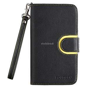 Leather Wallet Case cover For Samsung Galaxy Note N7000 i9220