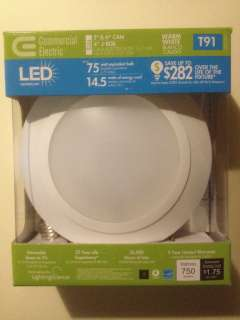 Commercial Electric 6 in. LED Disk Light For Recessed Can Lighting