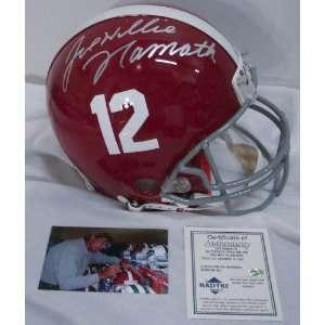 Joe Namath Alabama Crimson Tide Autographed Full Size