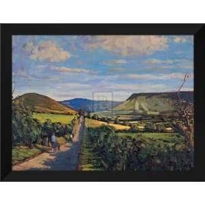 Hugh Oneil FRAMED Art 28x36 Visiting Home, Ireland