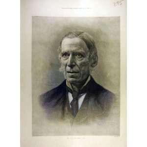 1900 Portrait James Paget Old Print Fine Art