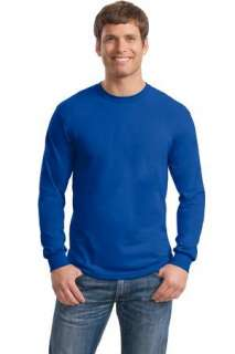 Gildan Ultra Blend 50/50 Cotton/Poly L/S T Shirt. 8400