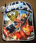 /Book Bag/School/Boys/ Iron Man Thor Hulk  NWT 875598608330