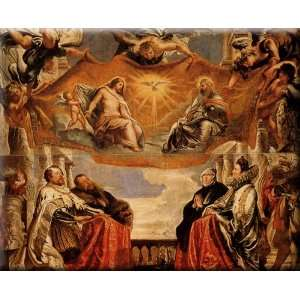Family 30x24 Streched Canvas Art by Rubens, Peter Paul