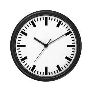 GERMAN Train Station Clock German Wall Clock by CafePress