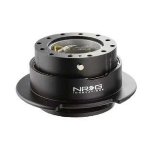 NRG Gen 2.5 Steering Wheel Quick Release Kit Black Body