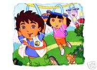 Go DIEGO Go   DORA #1 T Shirt Iron On Decal Transfer