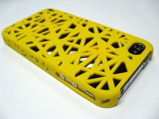 New birds nest snap case for AT&T Verizon iphone 4 4gs YELLOW