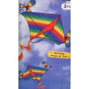 The 3 Foot Flying Machine Kite Toys & Games