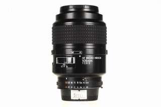 Nikon AF Micro Nikkor 105mm F/2.8 D Lens