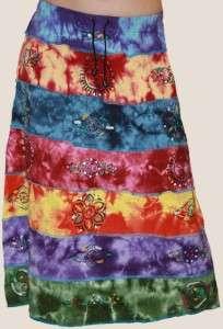 Hippie Boho Patchwork Fairy Bohemian Goth Gothic Bohemian Skirt