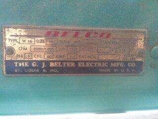 Vintage Belco 27 2 Speed window fan Wind O Cool Antique fan |
