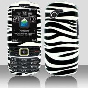 Samsung T479 Gravity 3 Blk Zebra Phone Case Cover ~NEW