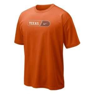 Longhorns Orange Nike Dri Fit Pill Legend T Shirt