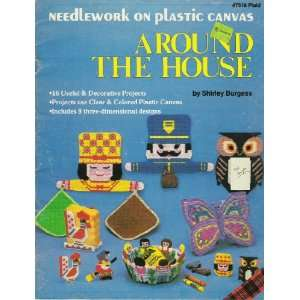 Needlework on plastic canvas around the house Shirley
