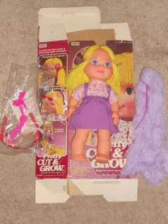 1980 Pretty Cut n Grow Doll With Box
