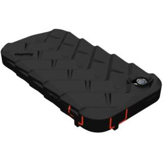 Gumdrop Drop Tech Series iPhone 4 & 4S Case BLACK/RED LATEST VERSION